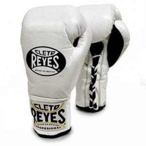 Guante profesional de cuerda Cleto Reyes Color EDT blanco
